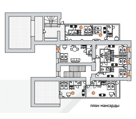 План 3-го этажа (мансарда)